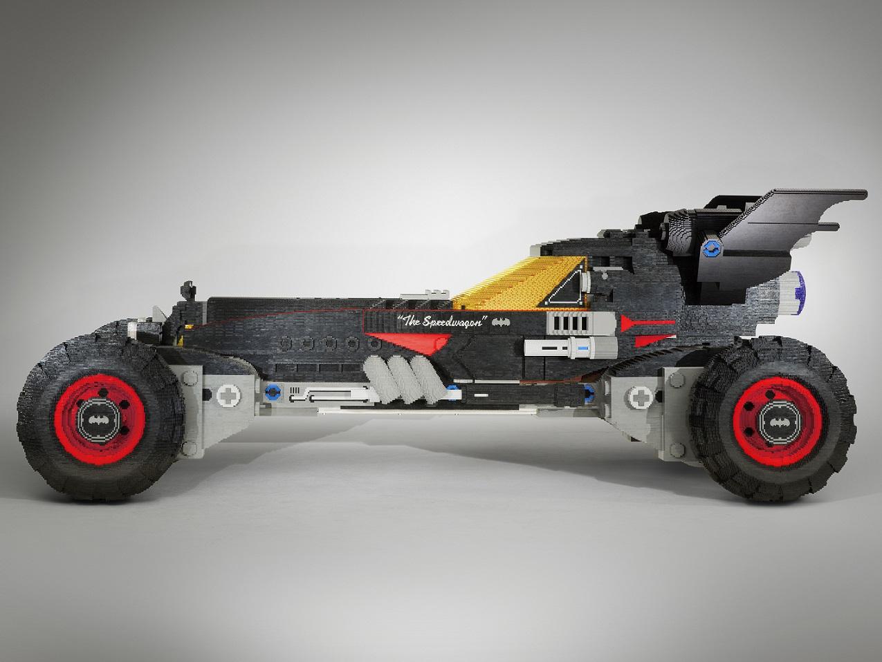 The Lego Batman Movie de perfil