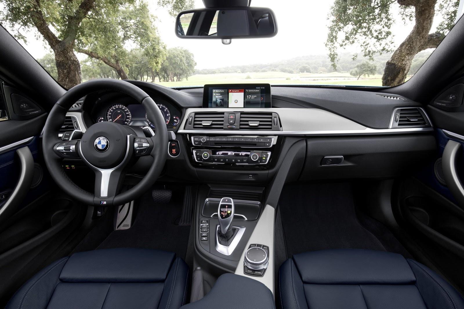 Cabine do BMW Série 4 Coupé