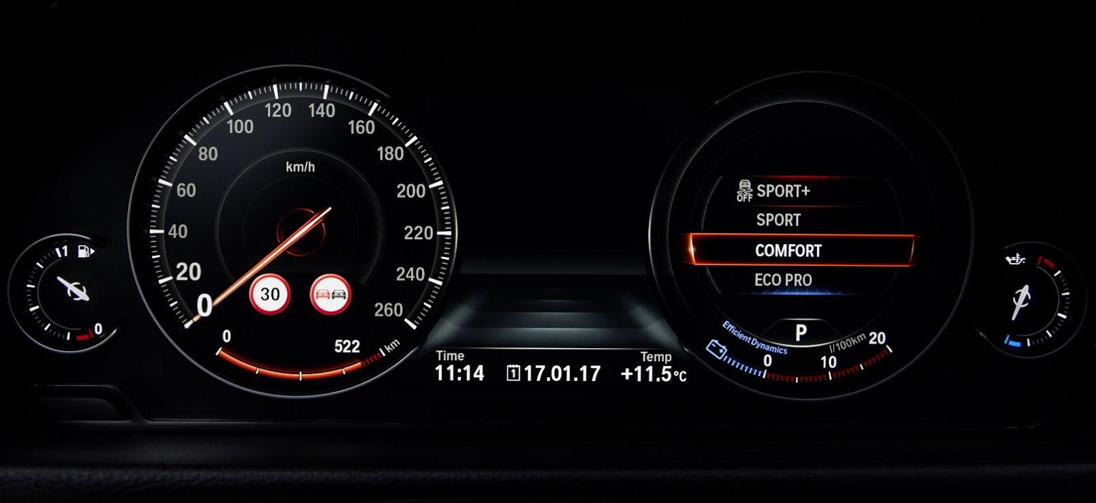 Painel do BMW Série 4 Coupé