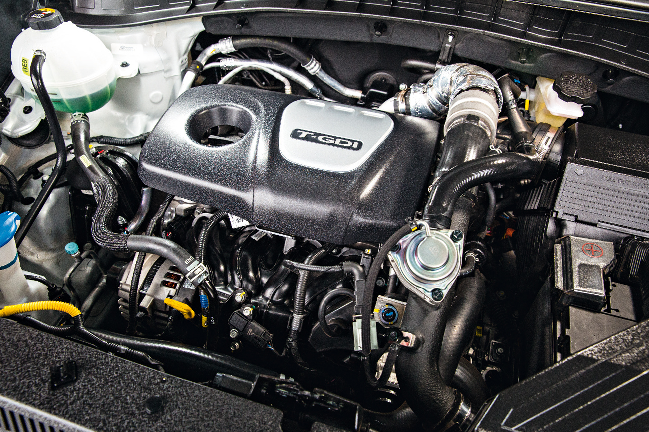 Motor 1.6 com turbo e injeção direta rende mais que o 2.0 flex do Compass