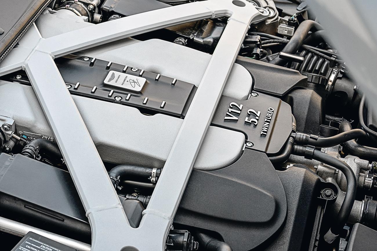 V12 é o primeiro turbinado da história da Aston Martin