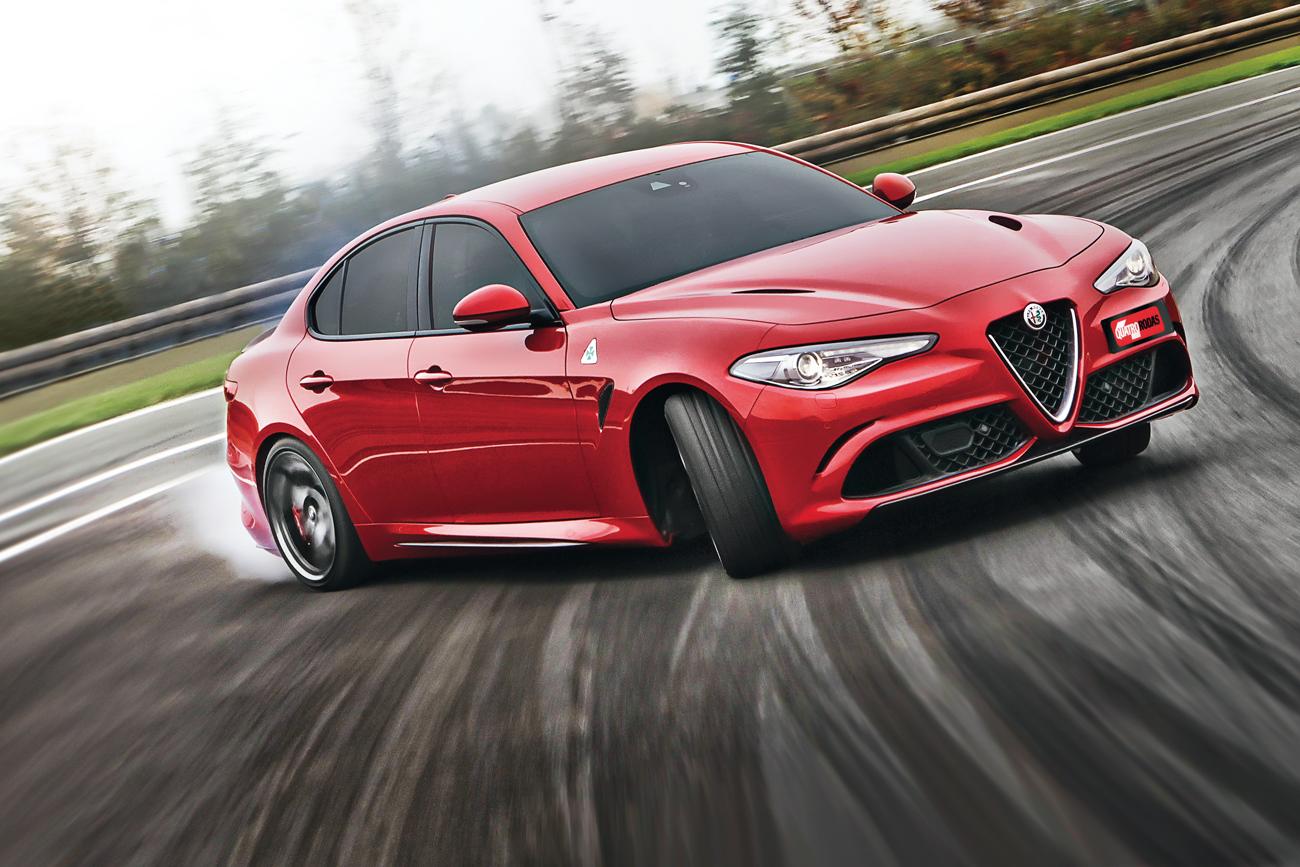 Giulia traz à Alfa a esportividade da tração traseira