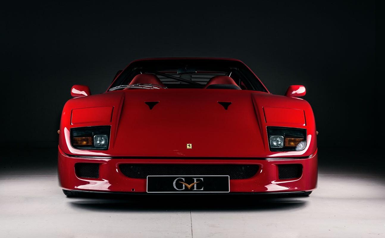 Ferrari F40 de frente