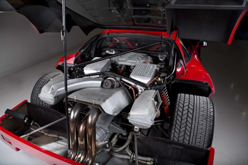 motor da Ferrari F40