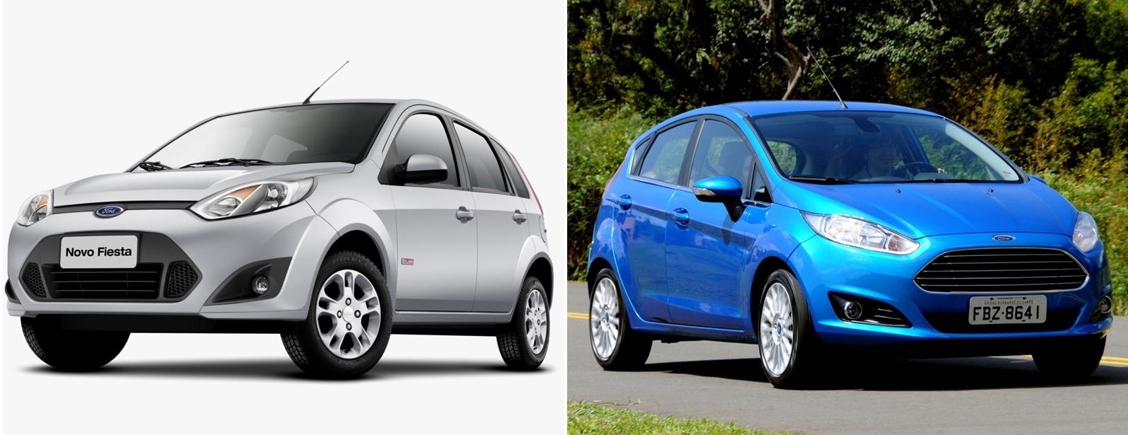 O Ford Fiesta evoluiu em tudo, menos no espaço interno