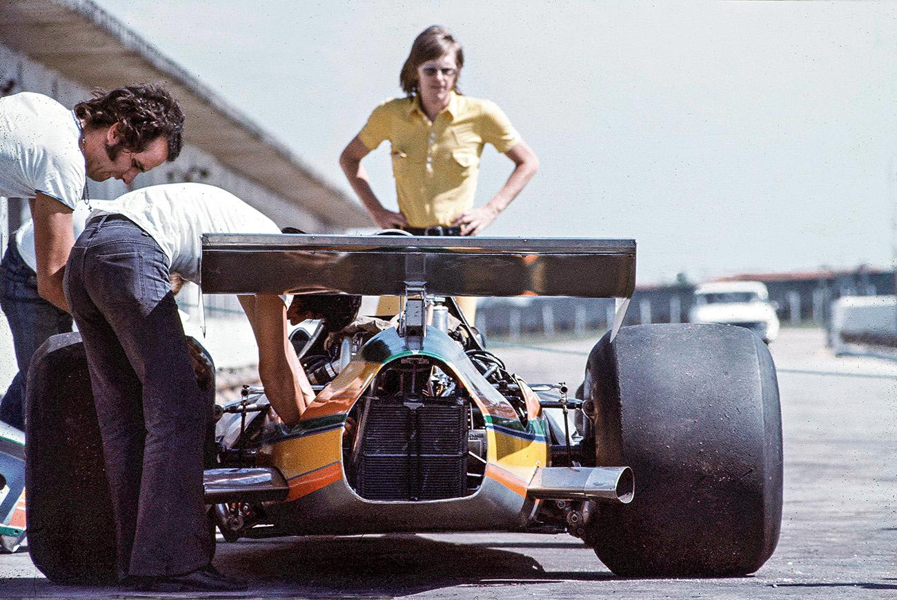 Ricardo Divila foi o projetista de todos os modelos da equipe Fittipaldi