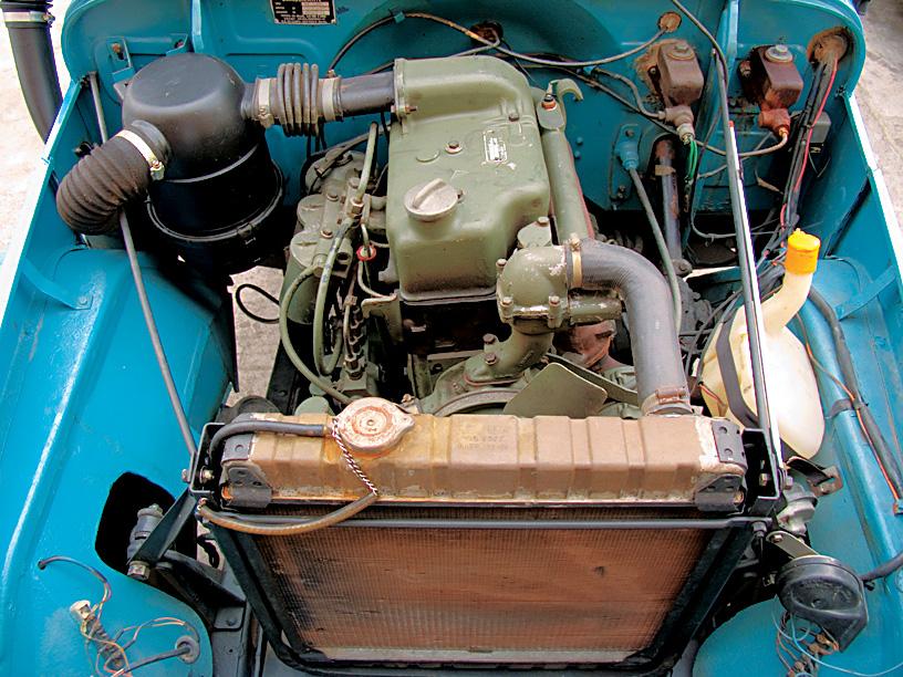 Mecânica robusta e simplificada facilitava a manutenção