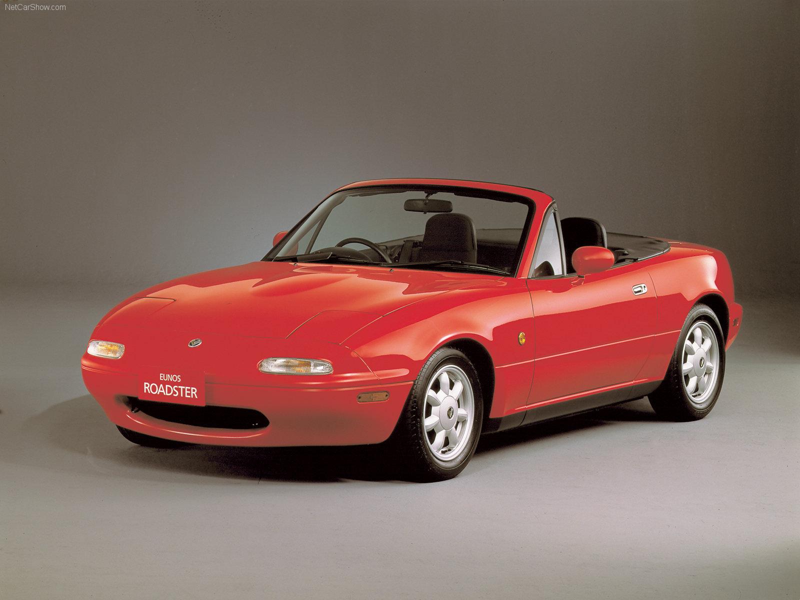 O clássico roadster MX-5 (ou Miata, se preferir) é um dos ícones da Mazda