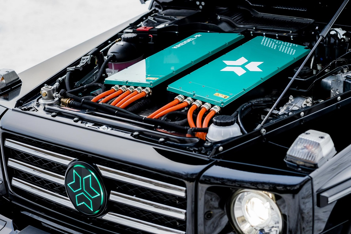Mercedes-Benz Classe G elétrico motor
