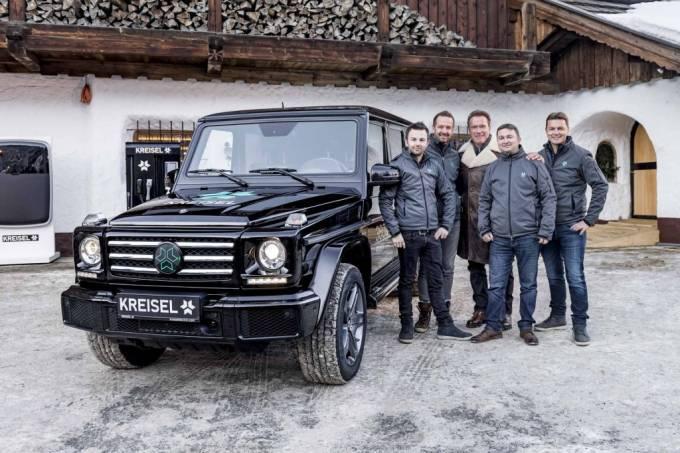 Mercedes-Benz Classe G elétrico