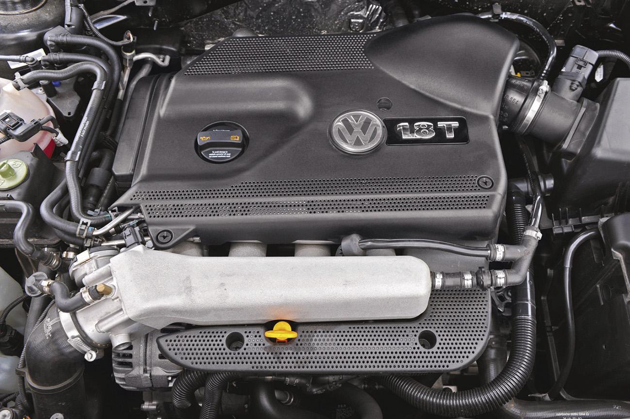 Motor 1.8 turbo do GTI rendia 193 cavalos com etanol