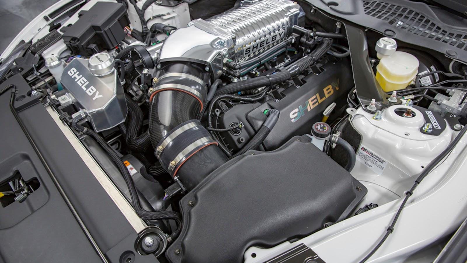 Motor do Mustang Shelby Super Snake