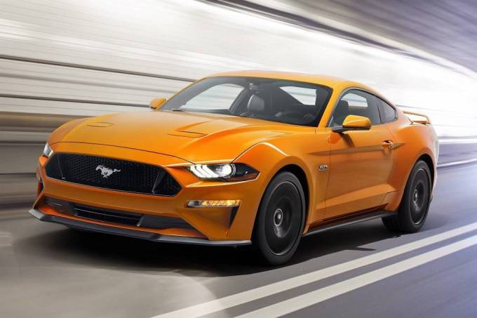Novo Ford Mustang GT