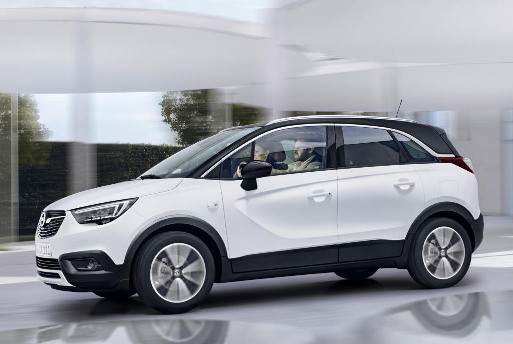 Plataforma do Crossland X será compartilhada com Peugeot e Citroën