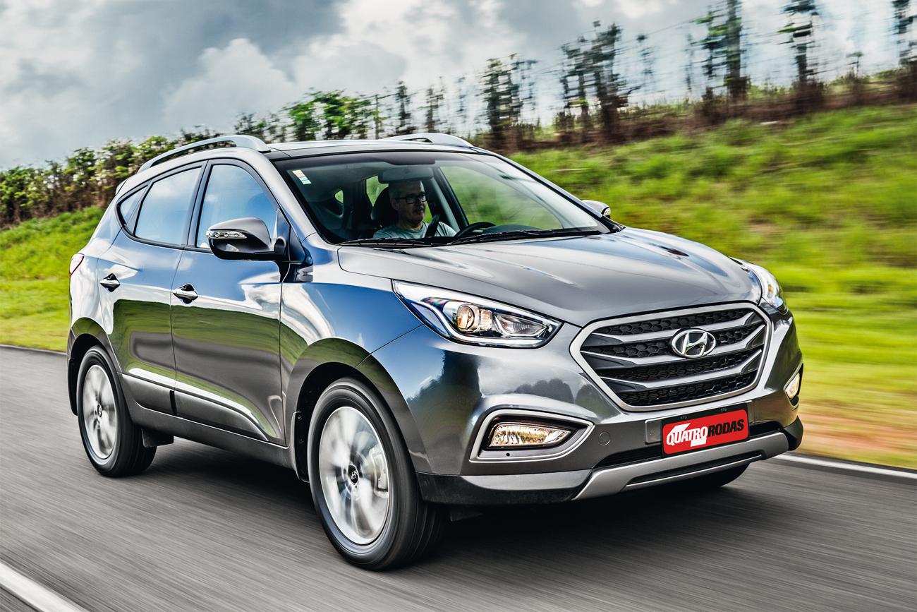 Hyundai tem leds nas luzes de posição e nos retrovisores