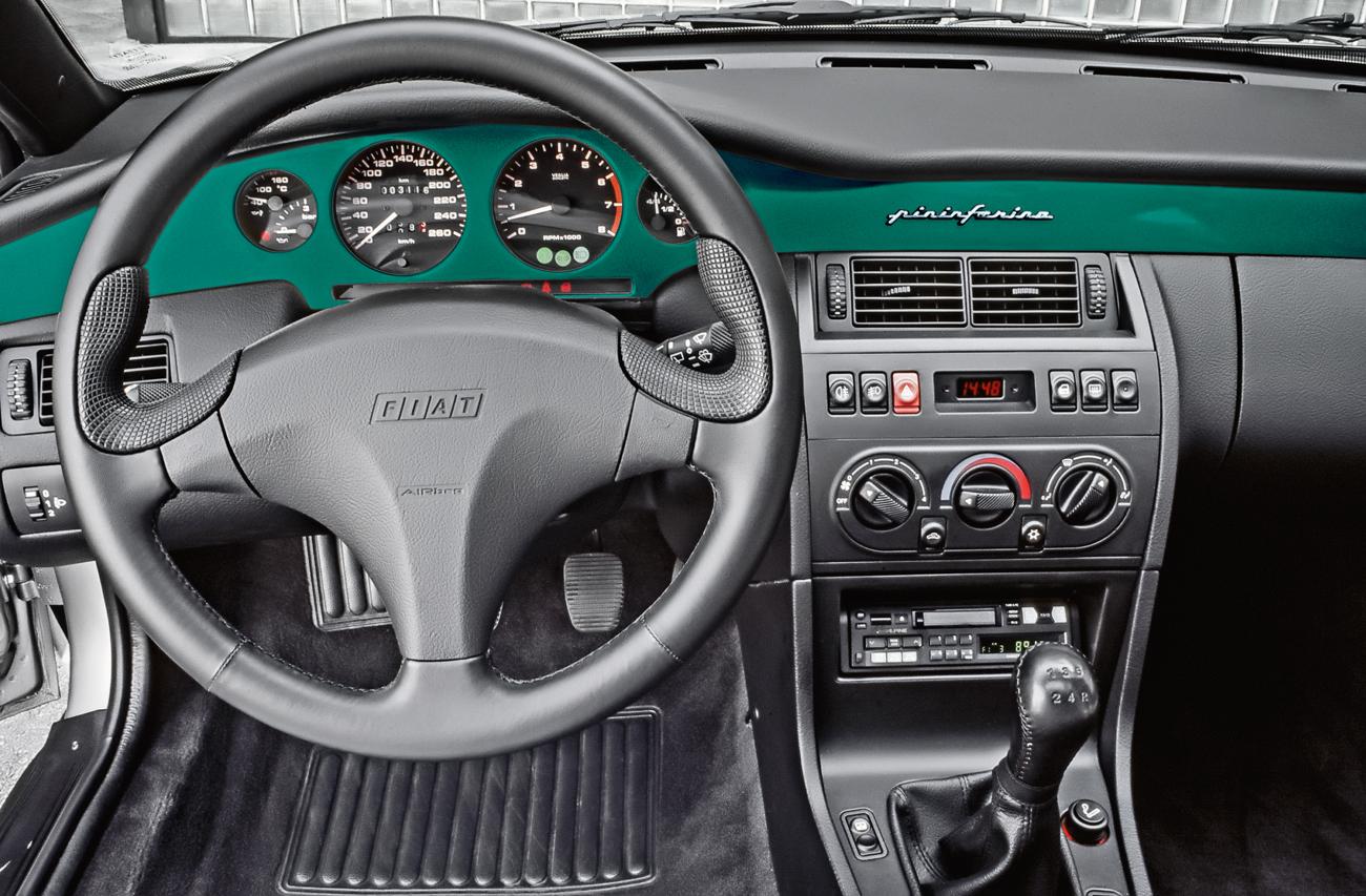 O design do interior era da Pininfarina