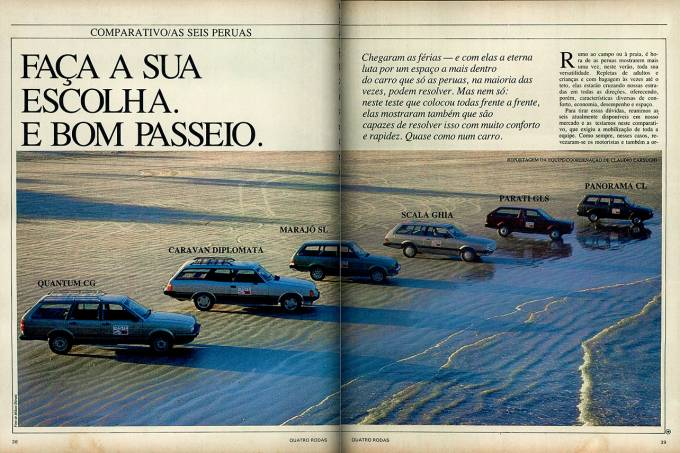 Quantum CD x Caravan Diplomata x Scala Ghia x Parati GLS x Panorama CL