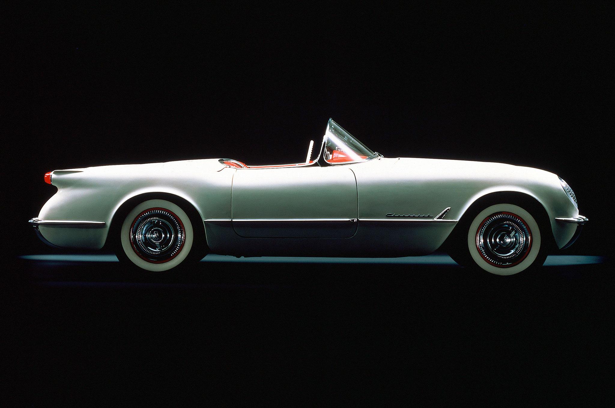 """Lançado em 1953, o """"Vette"""" era a aposta esportiva da General Motors"""