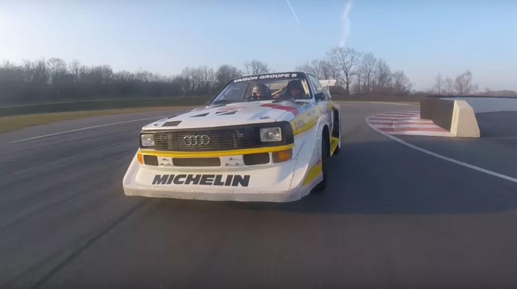 O Audi Sport Quattro S1 era uma das máquinas mais badaladas do Grupo B
