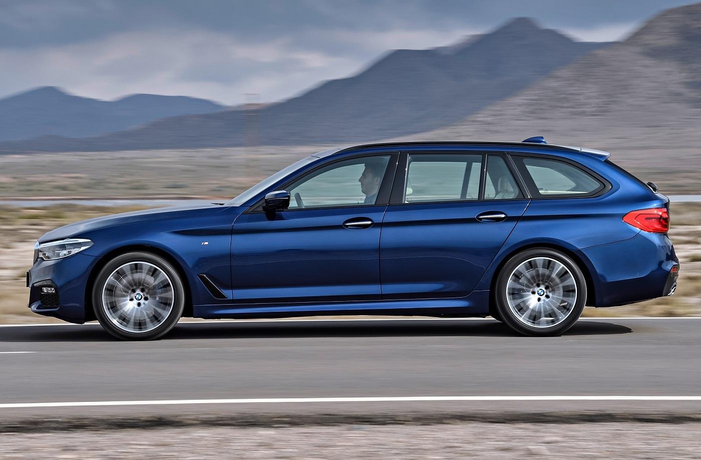 BMW Série 5 Touring de perfil