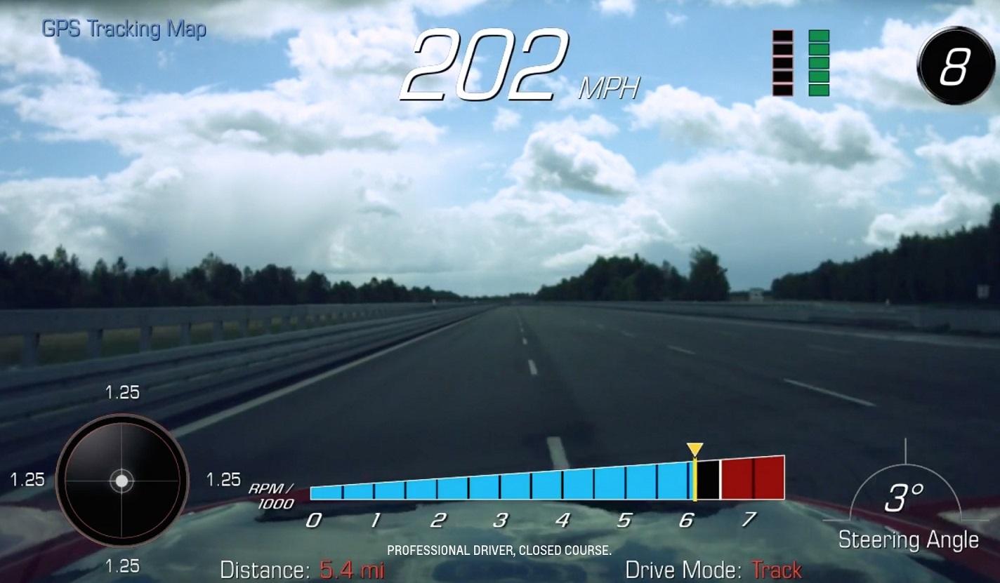 Chevrolet Camaro ZL1 pista