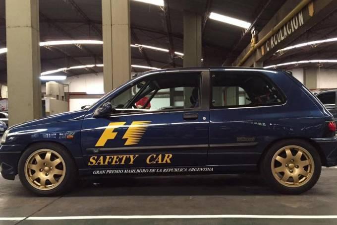 Clio Williams Safety Car