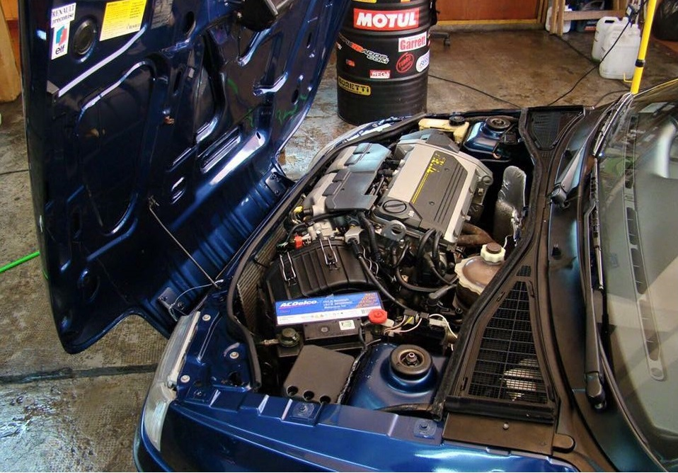 Clio Williams Safety Car motor