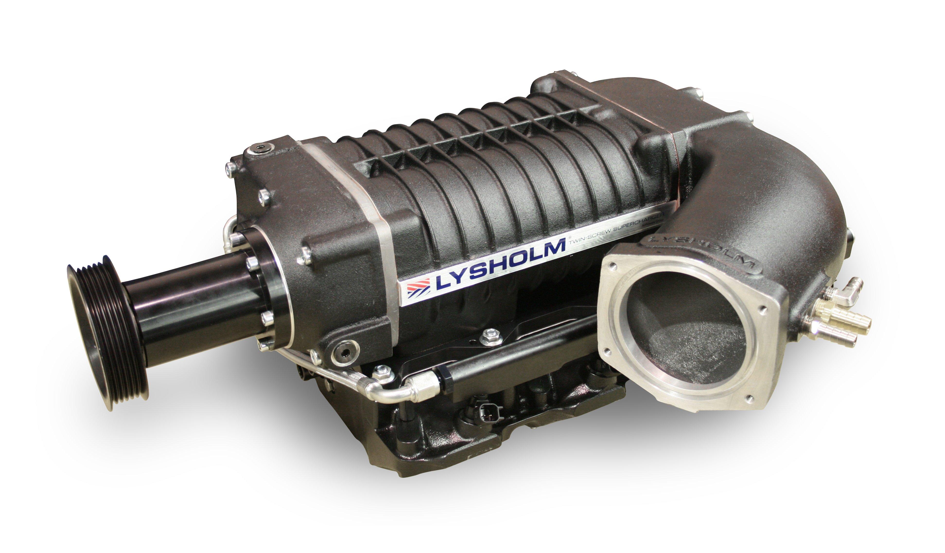 Compressor Lysholm, usado em versões de Mustang, Camaro e Cherokee