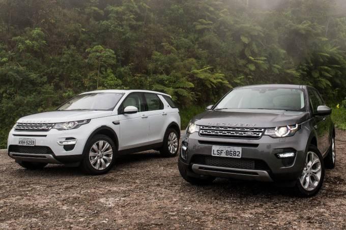 Land Rover Discovery Sport e Range Rover Evoque