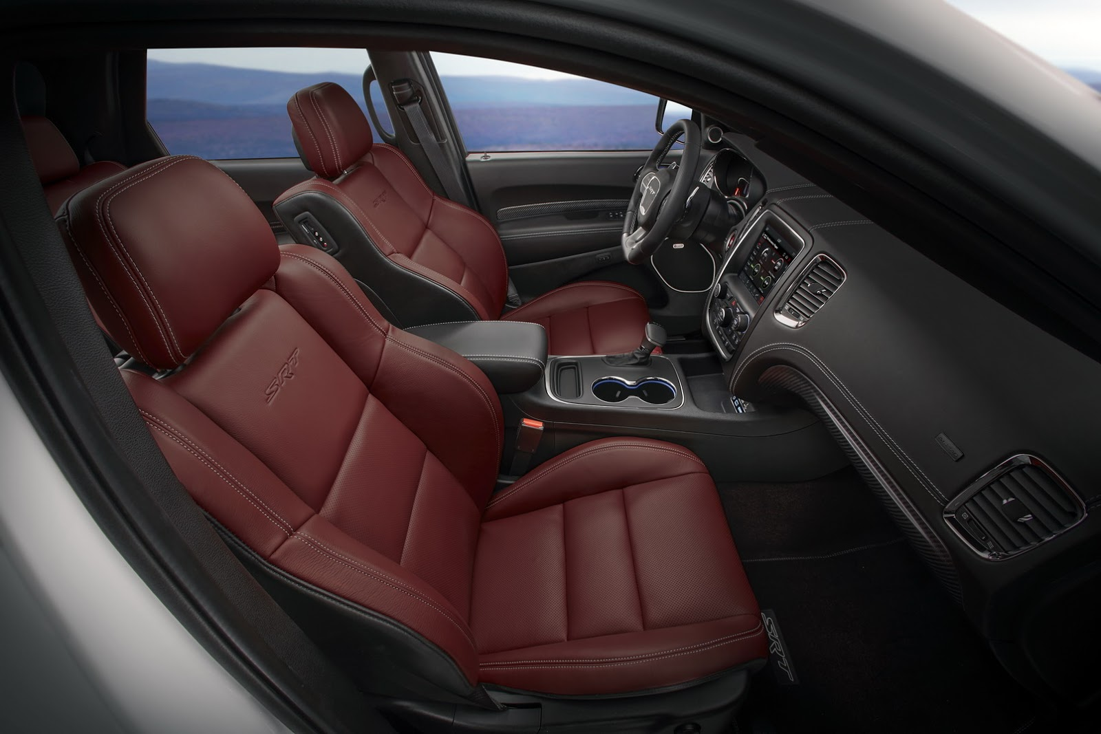 Dodge Durango SRT painel