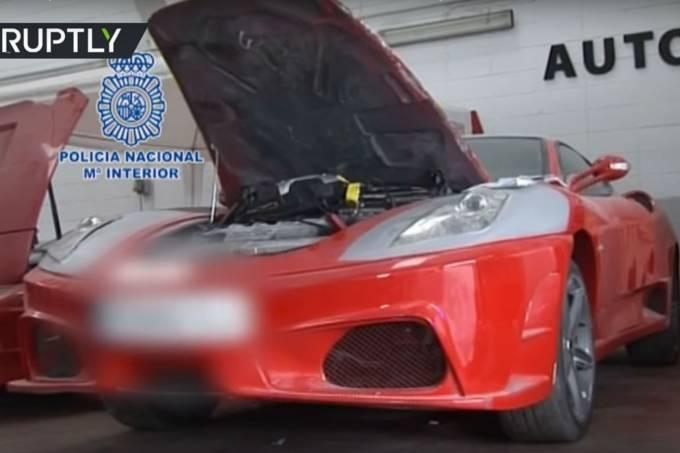 Ferrari fake