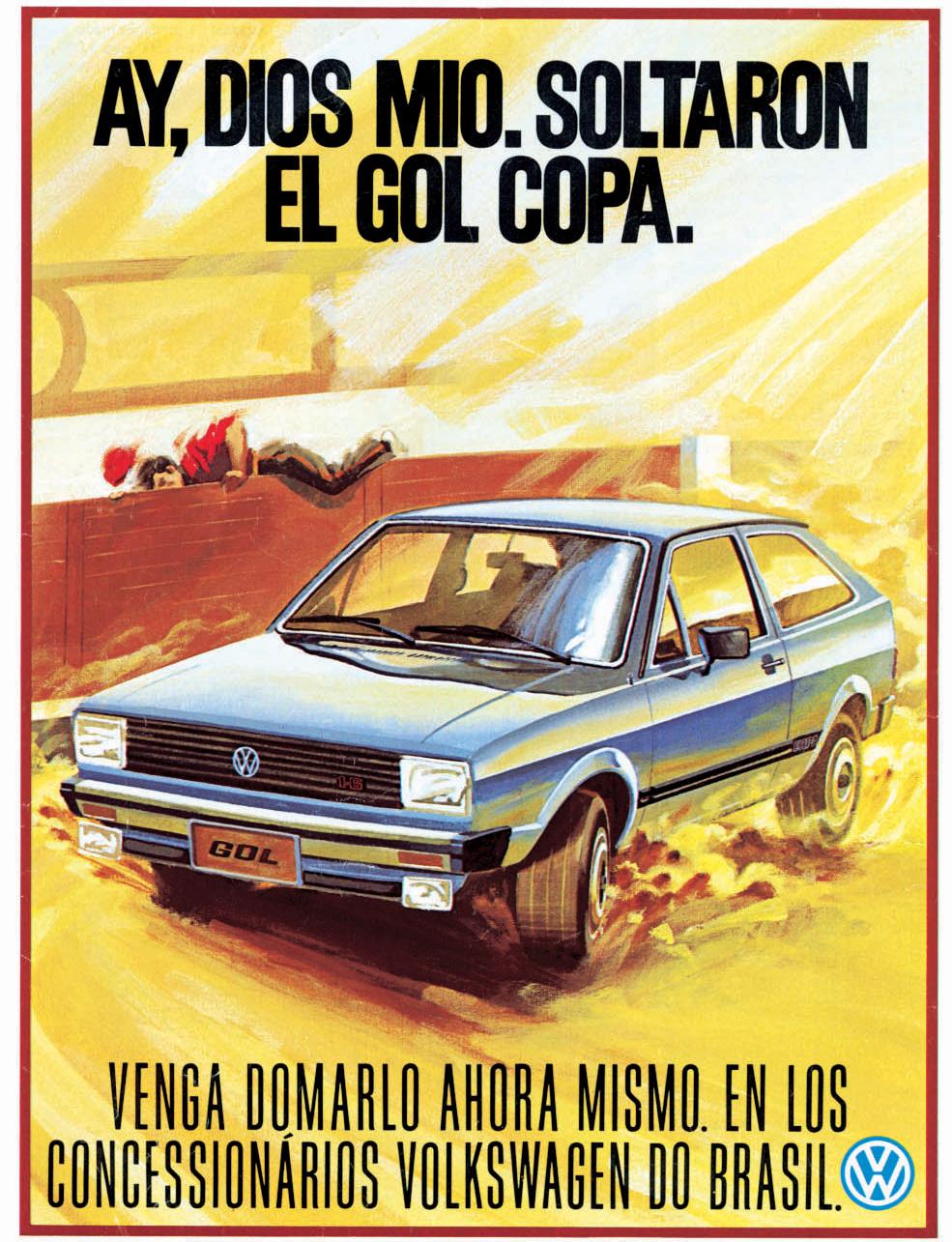 Propaganda do Gol Copa de 1982