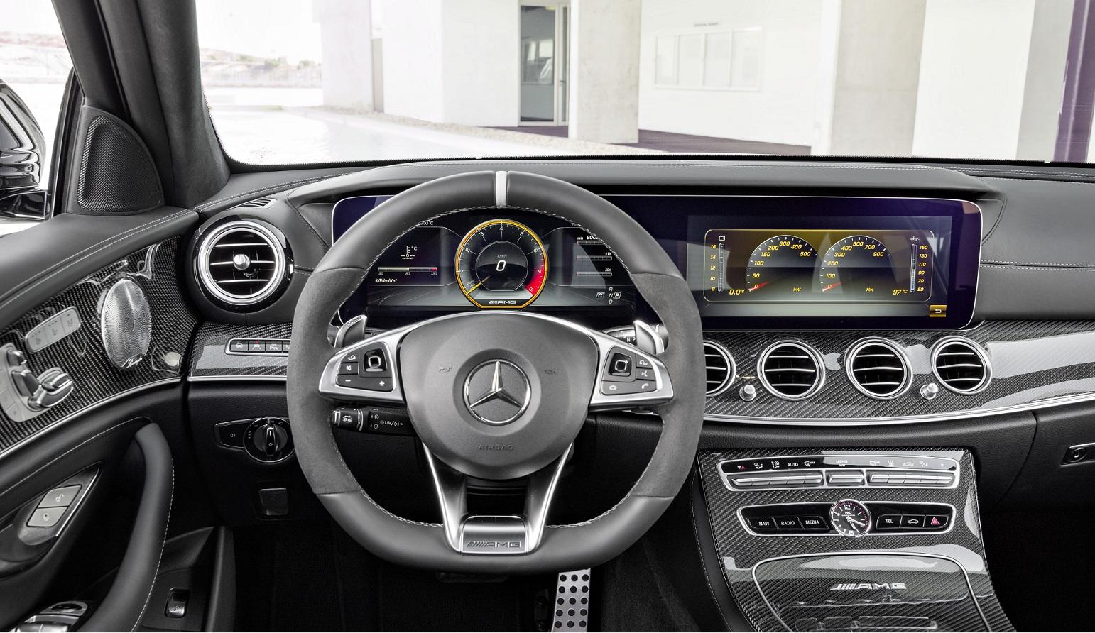 Mercedes-AMG E 63 S cabine