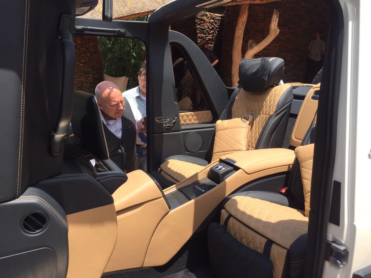 Mercedes-Maybach G 650 Landaulet cabine