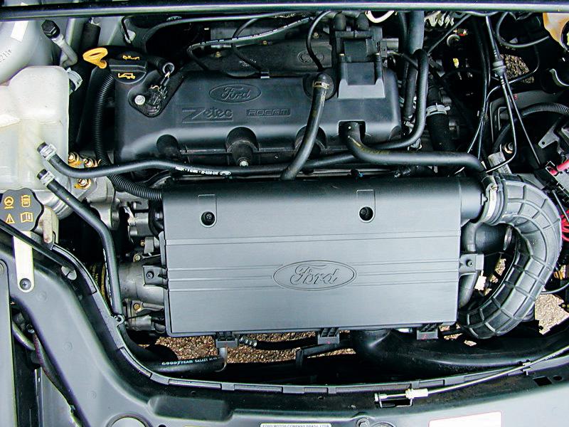Motor do EcoSport 1.0 Supercharger, lançado em 2003