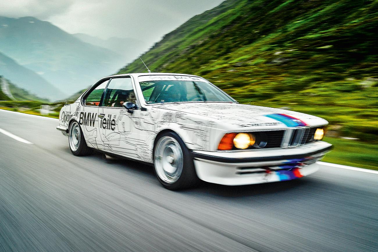 O BMW 635 CSi foi bicampeão no Campeonato Europeu de Turismo