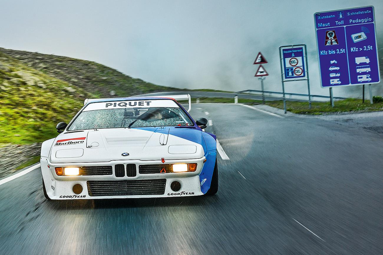 O M1 foi o primeiro supercarro da história da BMW