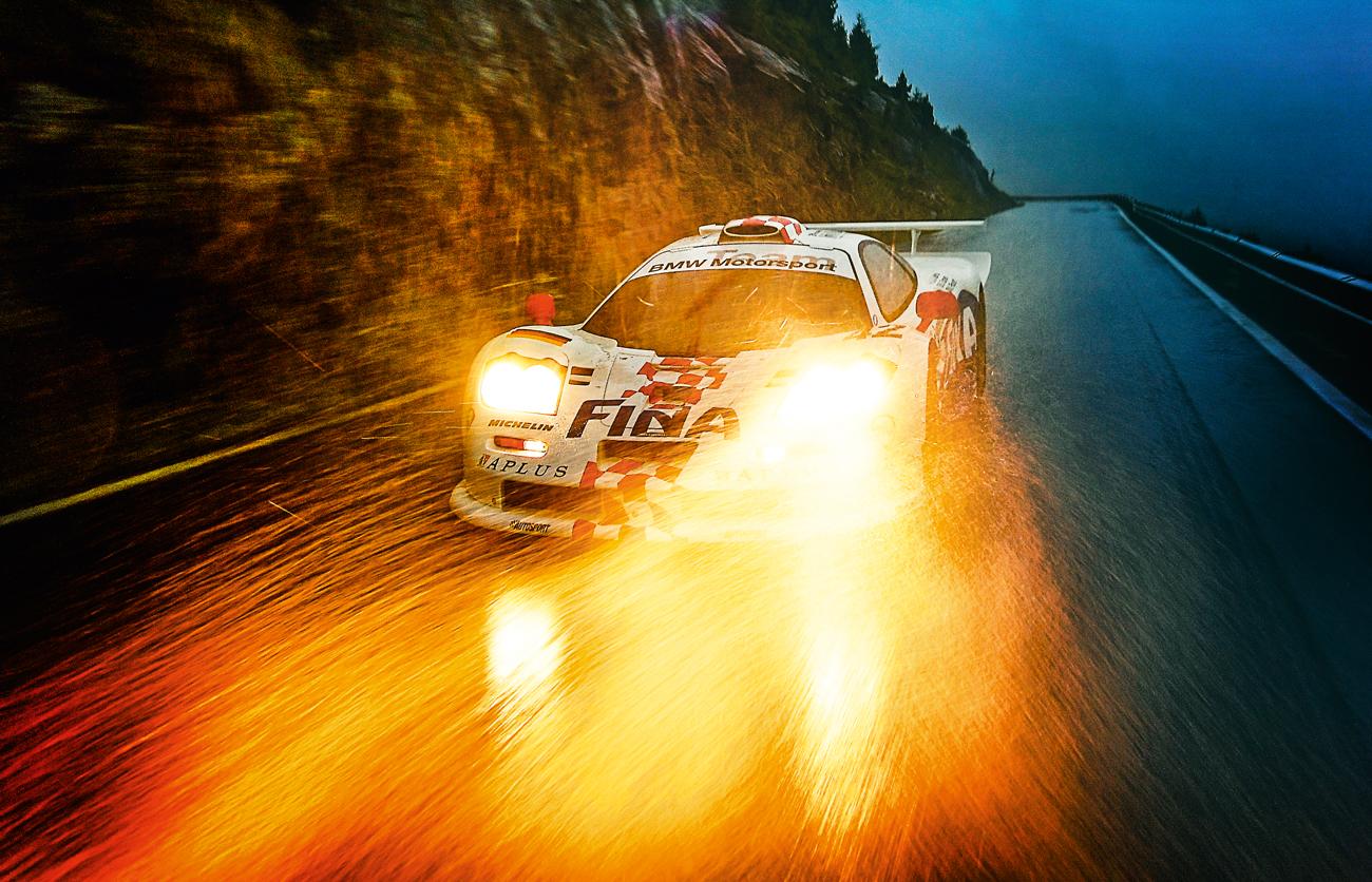 O McLaren F1 GTR fez fama nos anos 90 em Le Mans