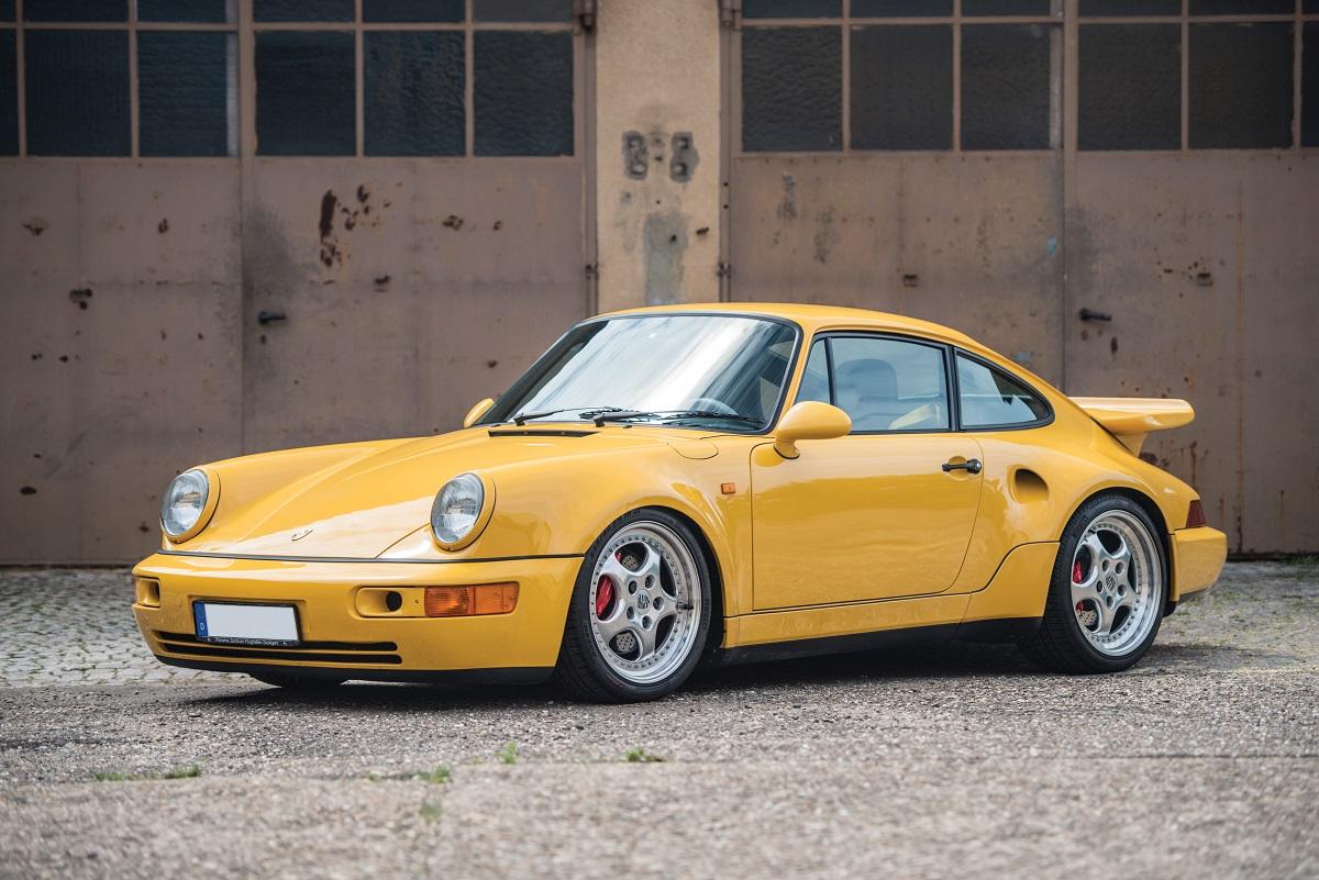 Porsche 911 Turbo S Leichtbau