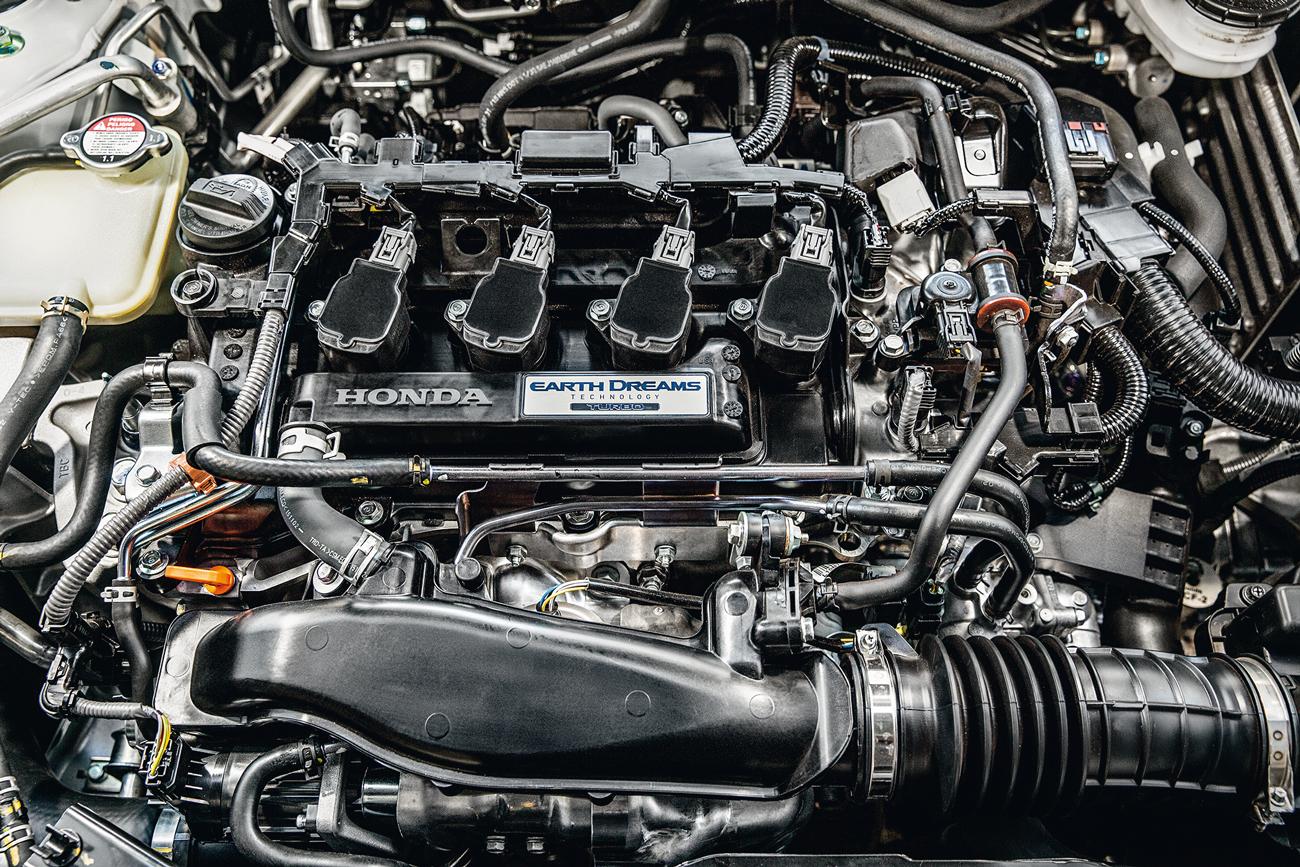 Motor 1.5 turbo do Civic é econômico e anda bem