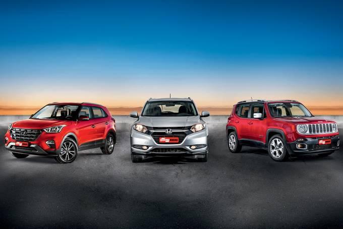 Hyundai Creta x Honda HR-V x Jeep Renegade