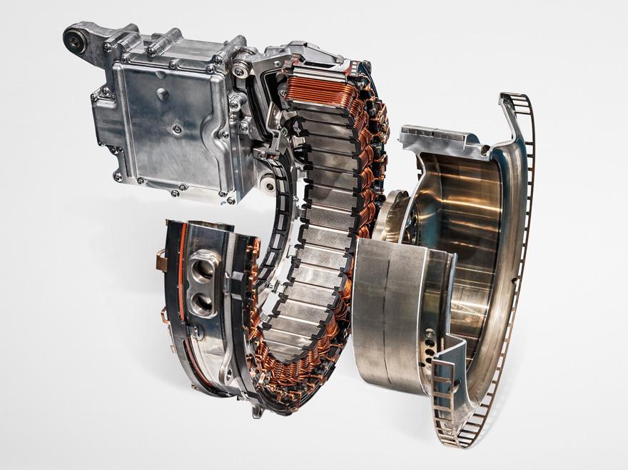 Além de gerar eletricidade, alternador ISG recupera energia e proporciona força extra