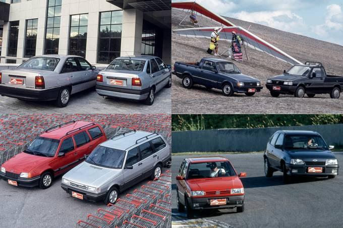 Grandes Comparativos: Fiat x GM