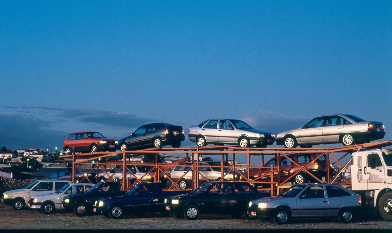 Os 14 carros dos sete comparativos: Fiat vence GM
