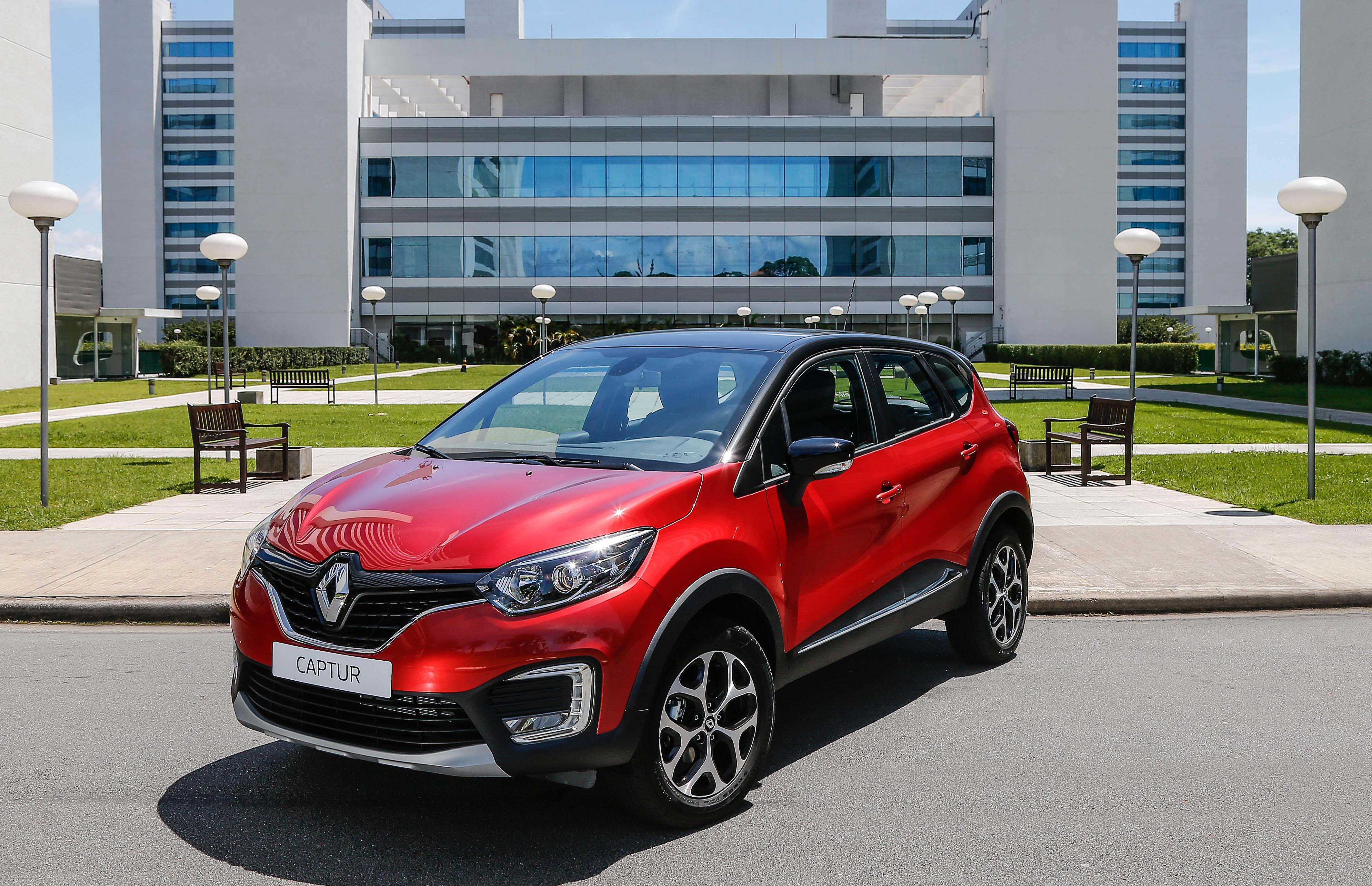 Design é ponto forte do Captur, que traz a nova identidade visual da Renault
