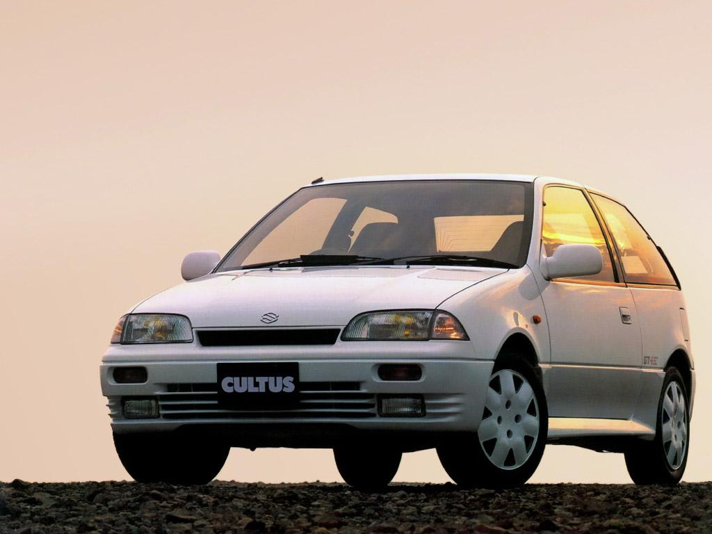 Conhecido em alguns países como Cultus, o Swift GTi foi importado para o Brasil nos anos 90