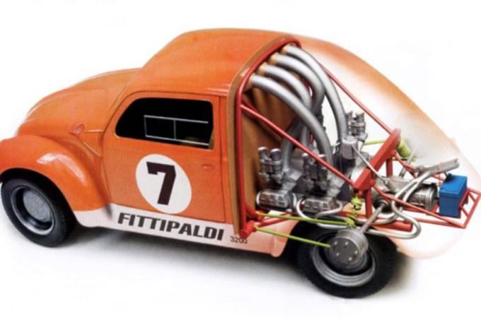 Fusca Fittipaldi de dois motores