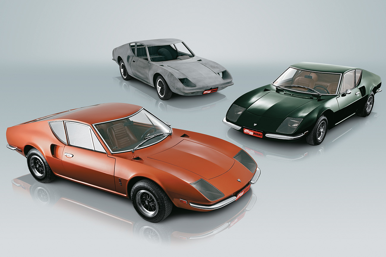 Produzidos pela Puma sob encomenda para a QUATRO RODAS, estes GT 4R foram presente da revista a três leitores em 1969