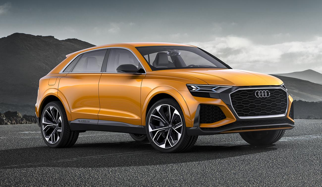 O Audi Q8, a ser lançado no ano que vem, nascerá deste conceito