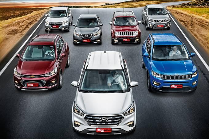 Comparativo: SUVs